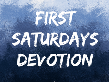 First Saturdays Devotion