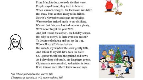 Fr. Michael's Poem