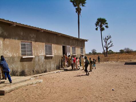 Typical school building