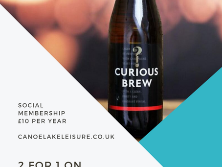 2 for 1 on Curious Brew