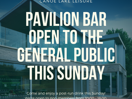 Bar open to the public Sunday October 20th