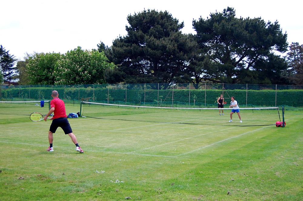 Grass Court Tennis at Canoe Lake
