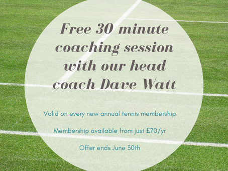 Free individual coaching sessions