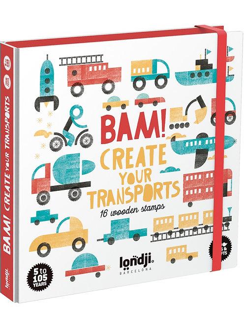 BAM! Transport Stamps