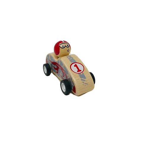 Red Pull Back Racer