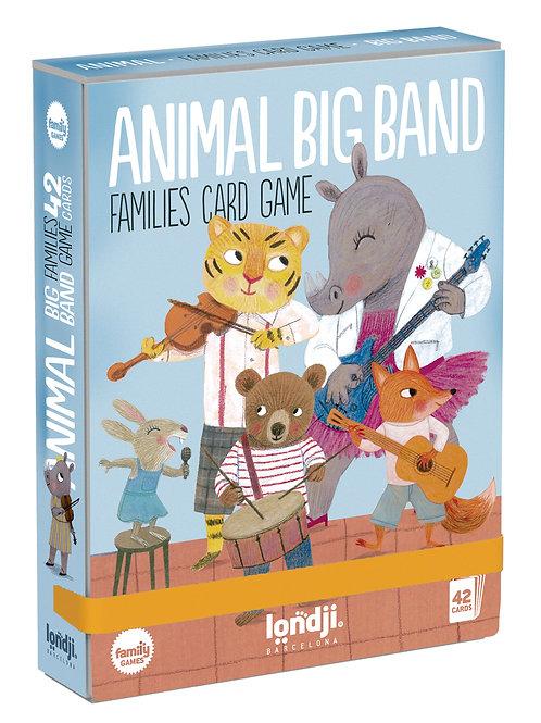 Animal Big Band Card Game
