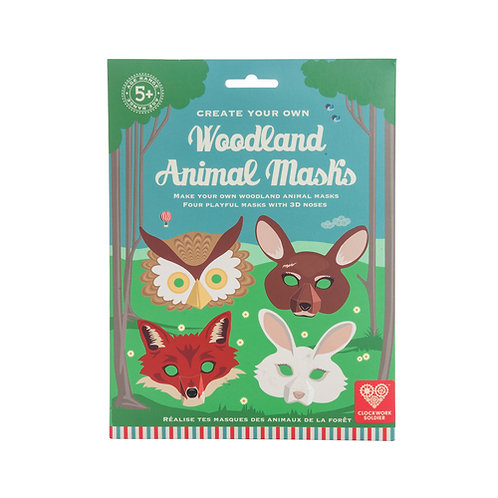 Woodland Animal Masks