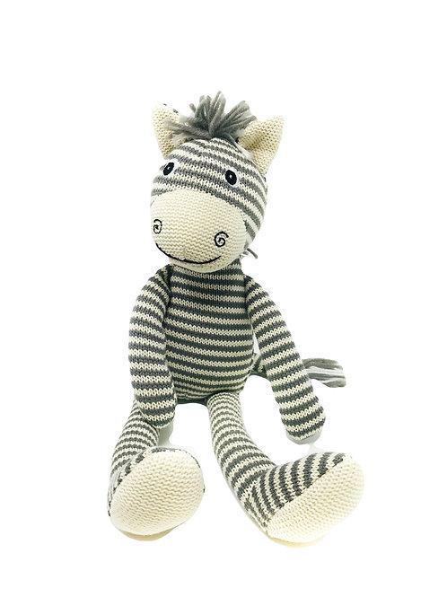 Knitted Zebra
