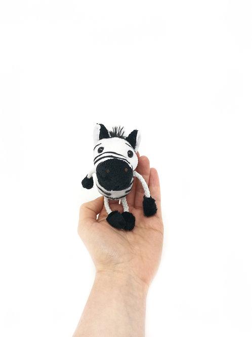 Zebra Finger Puppet