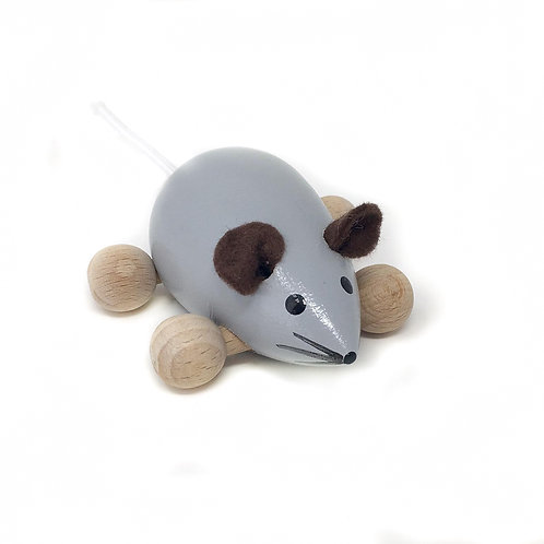 Grey Wooden Mouse