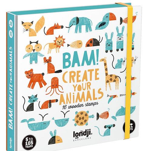 BAM! Animal Stamps