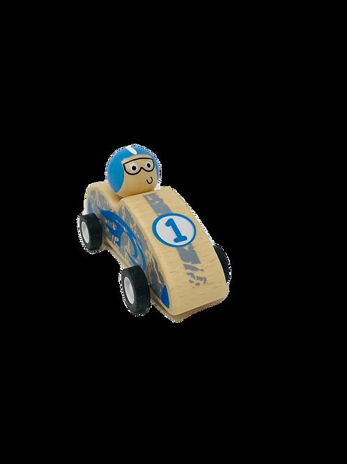 Blue Pull Back Racer