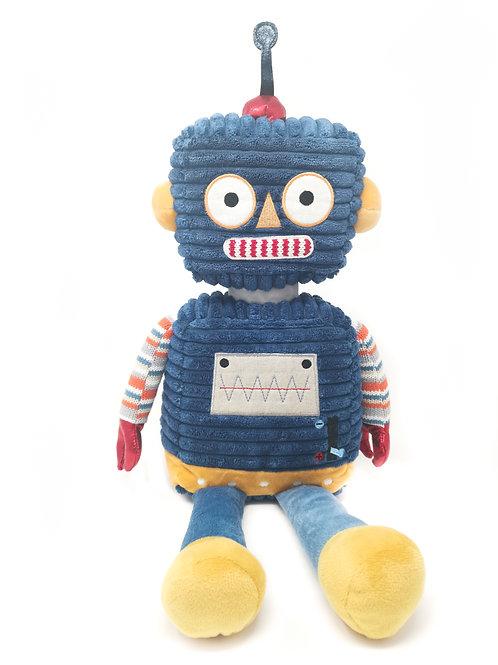 Dark Blue Robot