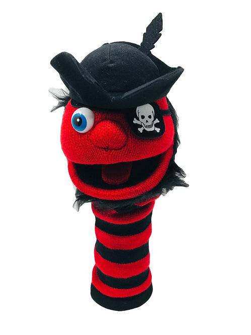 Pirate Sockette Puppet