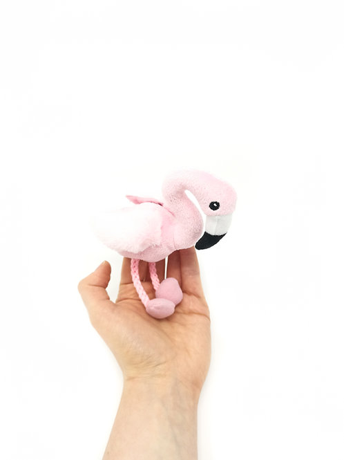 Flamingo Finger Puppet