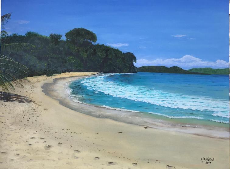 Playa soleada, Costa Rica