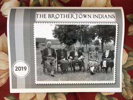 """Celebrating The Brothertown Indians"" 2019 Calendar"