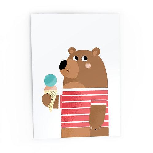Bear - Greeting Card