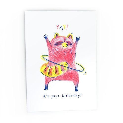 Yay! It's your birthday! Greeting Card
