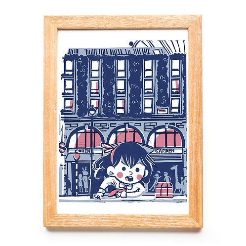 Covent Garden - Alice in WonderLondon