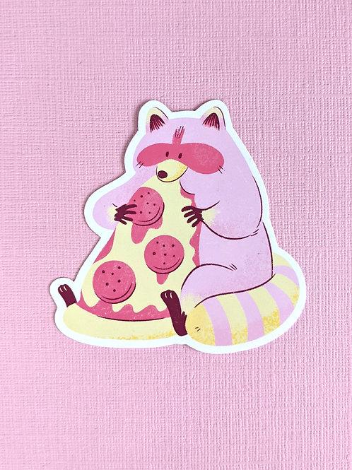 Ooni and Pizza - Vinyl Sticker