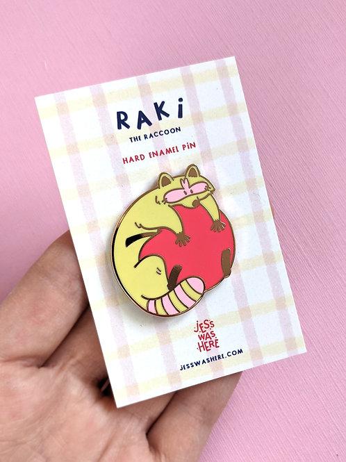 SECONDS Raki Hard Enamel Pin