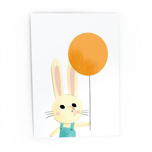 Rabbit - Greeting Card