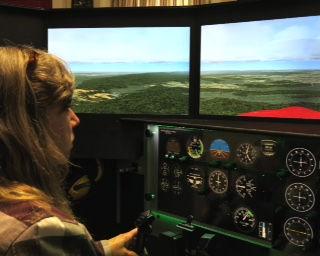 Training in Flight Simulator