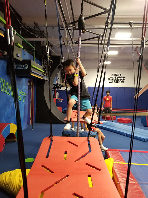 Progressive Athletic Center Ninja Warrior Party
