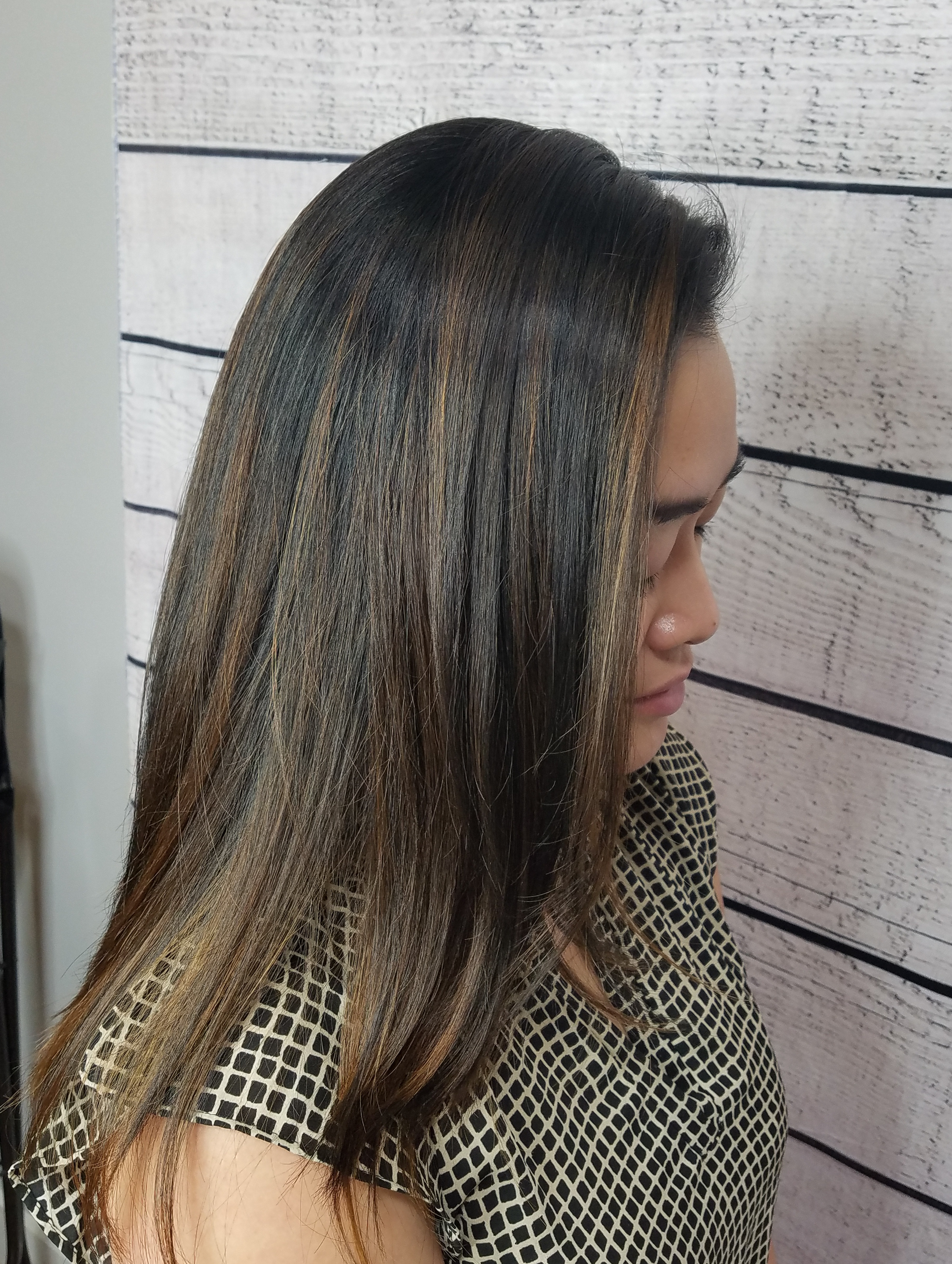 Full head balayage