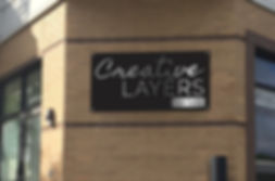 Creative layers hair salon store front in charlotte, nc 28202