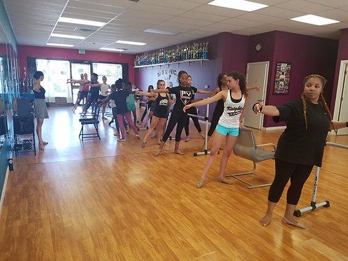 INDIVIDUAL DANCE CLASS- IN STUDIO
