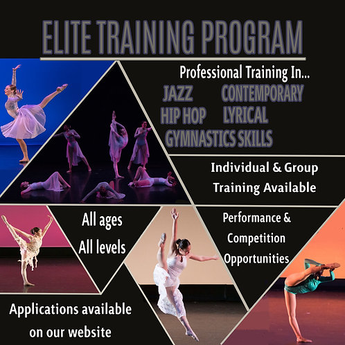 REGISTRATION FEE- ELITE TRAINING PROGRAM