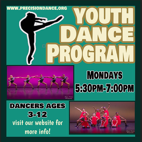 REGISTRATION FEE- YOUTH DANCE PROGRAM