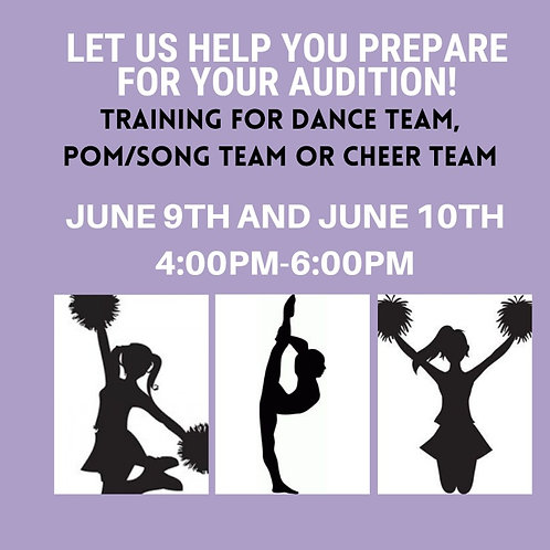 AUDITION PREP CLINIC-SONG/POM