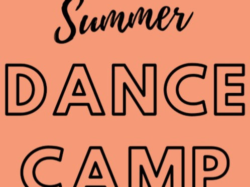 FULL WEEKLY RATE- Summer Dance Camp
