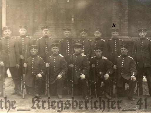 Rekruit-Füsilier vom FR73,  1914