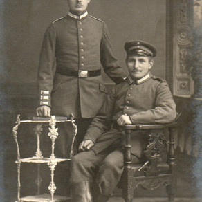 Grenadier in Training with Infantryman 1916