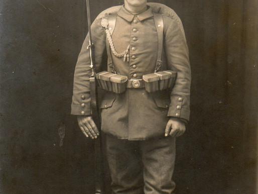Reservist  1916 Studio Portrait