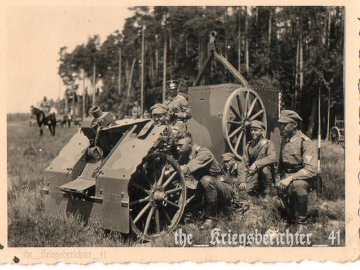 Kanonier Training in Grafenwöhr 1932