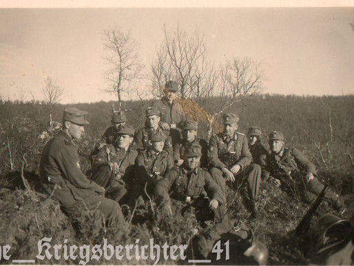 Gebirgsjäger at rest from Eternal Fighting