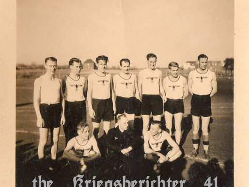 Heer Soldaten in sports kit