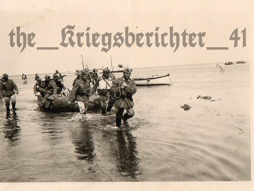 Frontkrieg Heer Pionieren Advance Inland
