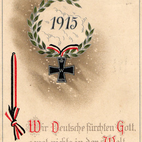 Germania New Year Wishes 1914