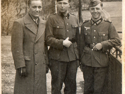 Three Friends at Easter 1942