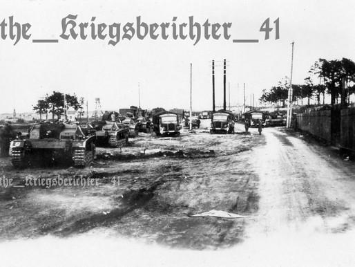 """Sturmgeschütz III, 1. SS-Panzer Division """"LAH""""- Krasnibor Siege of Leningrad 18.9.41"""