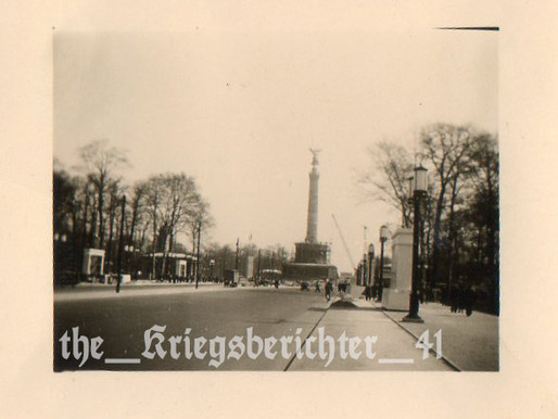 The Siegessäule (Victory Column)