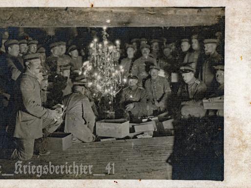 """""""Der kurze Waffenstillstand, Stille Nacht, 24. Dezember 1914"""""""