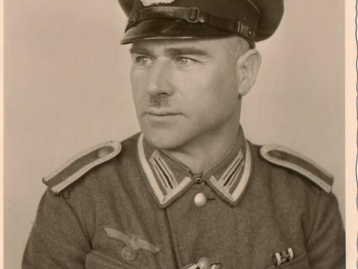 Studio Portrait Of A Heer Unteroffizier Veteran