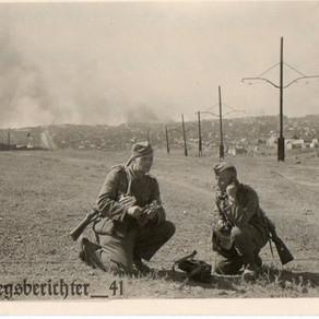 Heer Funkers in Stalino 1943